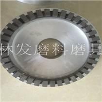 指用于研磨機上的盤式磨具,由盤體和金剛石磨塊組成
