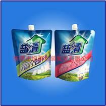吸嘴袋廠家  洗衣粉自立吸嘴袋定制  UV印刷復合袋