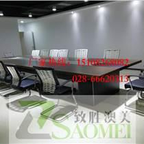 廠家條形會議桌專業定做|四川成都致勝品牌會議室會議桌廠廠家