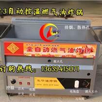 大型燃氣油炸鍋|自動控溫燃氣油炸爐|恒溫燃氣炸油條機