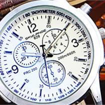 深圳手表:瑞士藍光手表 休閑時尚商務腕表高檔手表潮流男表