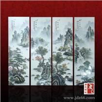 【新】手繪中式客廳裝飾瓷板畫,家居裝飾畫