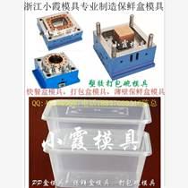 我们做塑胶模具 薄壁快餐盒注塑模具 薄壁塑胶便当盒模具多少钱
