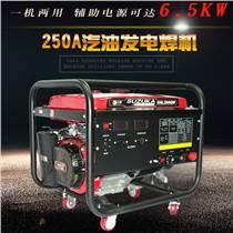河南汽油發電電焊機250QW