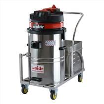 武汉工厂车间用威德尔电瓶式工业吸尘器WD-60清理地面灰尘 免维护蓄电池吸尘器