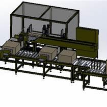 厂家供应新款装箱机 食用油纸箱包装流水线