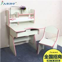 可升降兒童學習桌椅組合套裝 學生課桌書桌