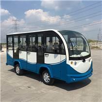 山东东营度假村游览观光车,11座封闭式载客小巴士