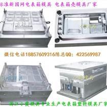 注塑模具廠 國網標準單相12電表箱注塑模具黃巖模具