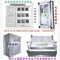 台州注射模 国网标准单相6电表箱注塑模具厂