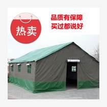 施工帳篷加厚救災帳篷工程工地帳篷北京大興廠家定做棉帳篷