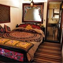 成都 藏式实木家具定制 藏式床 藏式椅子 藏式佛龛定制
