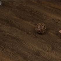 廠家佛山直銷防水免膠石塑地板 出口4mm仿古浮雕木紋PVC鎖扣地板