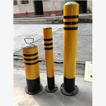 深圳防撞桩 防护桩 路桩 钢管警示柱 道路防撞设施