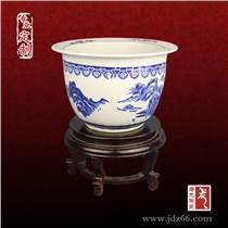 廠家直銷景德鎮高檔陶瓷花盆  青花瓷擺飾