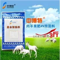 肉羊预混料肉羊育肥专用