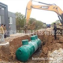 農村生活廢水處理設備碳鋼式污水處理設備