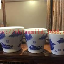 中国风陶瓷古典花盆 园艺花盆批发