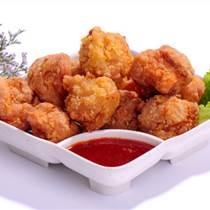 麻辣雞小塊 2公斤一袋麻辣炸雞腌制品 冷凍品批發