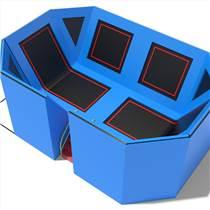 跳床蹦床組合樂園廠家定制高強度琴鋼絲 錳鋼彈簧