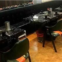 北京黑胡桃色牛角椅 原木色牛角椅 布艺牛角椅