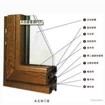 木包铝窗的价格铝包木窗铝木复合