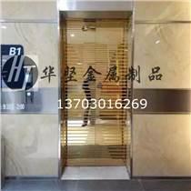 佛山定制不銹鋼門 黑鈦 玫瑰金 鈦金 電梯門 ktv不銹鋼電梯門