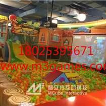 互動兒童樂園都有哪些游樂設備-智立方互動科技 山東互動投影系統廠家價格