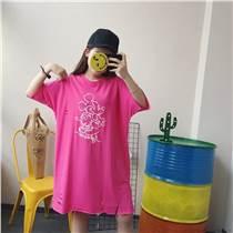 那里有幾塊錢甩貨短袖T恤處理最便宜服裝批發外貿庫存毛衣
