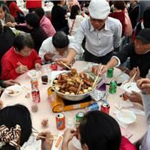 深圳寶安正宗粵式客家大盆菜工廠企業年會喬遷家宴人氣餐