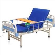 医用病床ABS单摇加强病床护理床起背便孔家庭护理