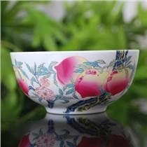 定做福禄寿陶瓷寿碗礼品寿碗陶瓷工艺碗商务礼品