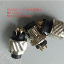 M8,6PIN(芯)连接器用用于Baumer保盟工业相机