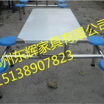 安陽學生餐桌椅尺寸_六人連體餐桌專業餐桌椅定做