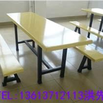 六人连体餐桌》商丘快餐桌定制厂商