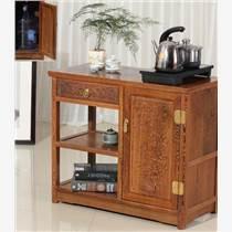 成都小蜗红木客厅茶几柜茶水架销售