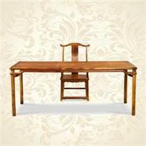 红木中式仿古书画桌老板桌批发