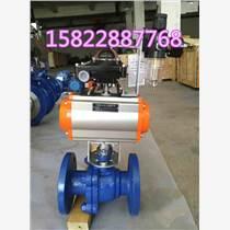 球阀 KJQ641F-16C气动O型球阀选型 排渣球阀专业生产批发