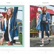 米祖女裝品牌高雅時尚冬款外套品牌折扣店貨源批發
