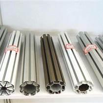 找展位搭建就找邦威展位鋁材大孔八棱柱