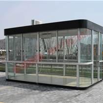 黄浦吸烟亭加工厂 工业区吸烟亭制作图片 室外吸烟亭休息室定做