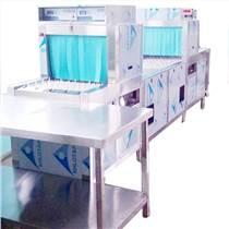 铜螺母自动除油除铜屑通过式超声波喷淋清洗烘干流水线设备