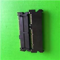 深圳SATA連接器廠家22PIN母座連接器高度5.5