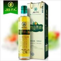 供应 井江野山茶油双重有机认证茶籽油500ml小瓶
