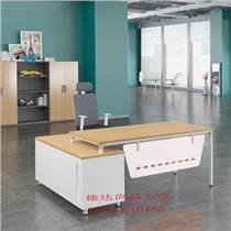 云南麗江辦公家具老板辦公桌經理主管工作臺架定制金屬桌