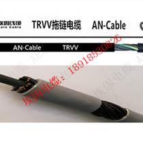 拖鏈屏蔽控制電纜TRVVP,柔性耐彎曲電纜300.