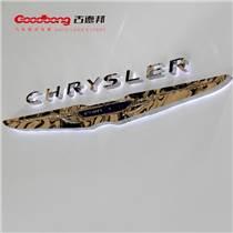 三維展會電鍍車標吸塑鍍膜車標訂制汽車門頭亞克力車標