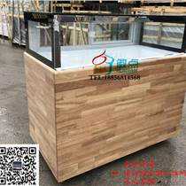 安陽蛋糕保鮮柜,單層風冷甜點展示柜,方形直角柜