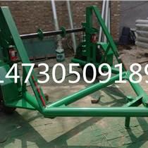 吴忠市十五吨线缆放线车通信电缆拖车