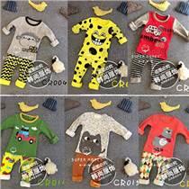 品牌嬰幼兒童裙批發,純棉童裝特價,兒童睡衣套裝
